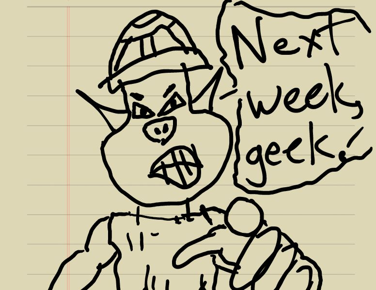 Geekly the Weakly Goblin
